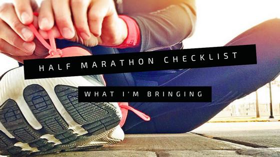 My Half MarathonChecklist!